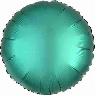 Jade Satin Luxe Foil Round 17in/43cm