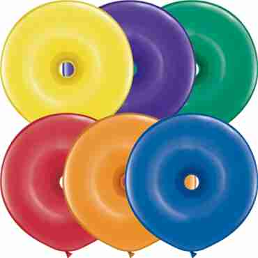 Jewel Assortment GEO Donut 16in/40cm