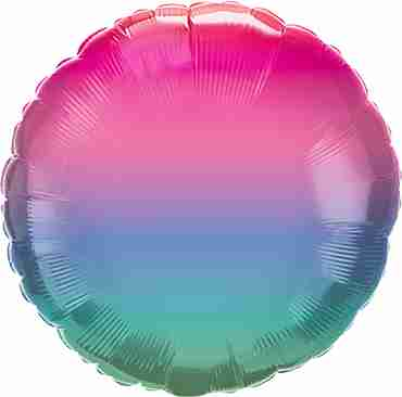 Jewel Ombre Foil Round 18in/45cm