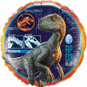 Jurassic World Foil Round 18in/45cm