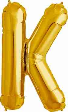 K Gold Foil Letter 34in/86cm