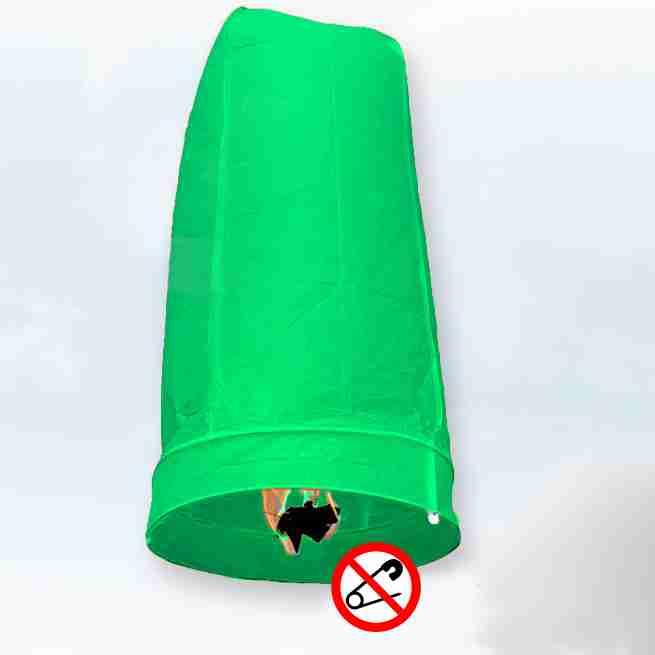 Khom Loy Wensballon 50 x 100cm Groen