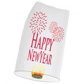 Khom Loy Wensballon 50 x 100cm Happy New Year