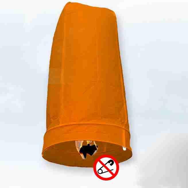 Khom Loy Wensballon 50 x 100cm Oranje