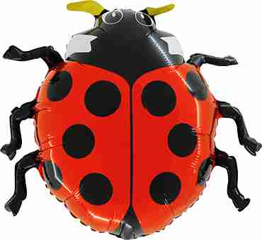 Lady Bug Foil Shape 28in/70cm