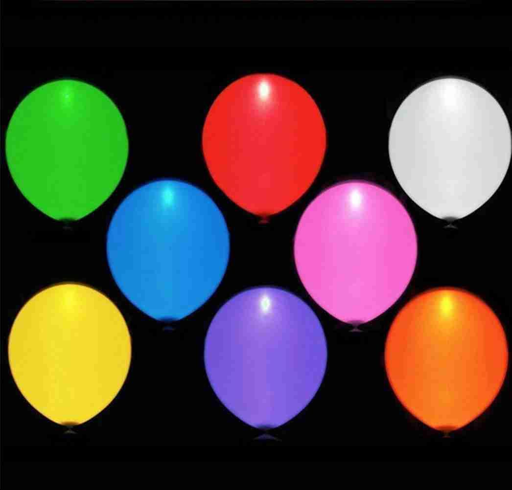 LED Ballon Assorti