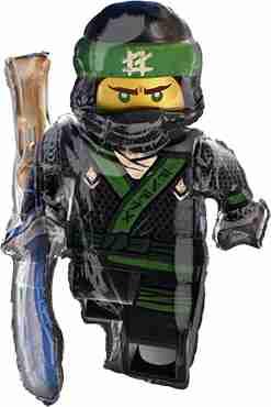 Lego Ninjago Foil Shape 32in/81cm x 35in/88cm