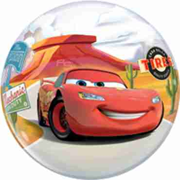 lightning mcqueen and matey single bubble 22in/55cm