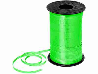 Lime Green Curling Ribbon 5mm x 500m
