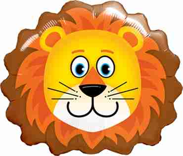 Lovable Lion Foil Shape 29in/74cm