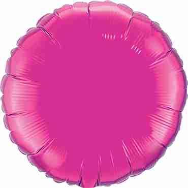 Magenta Foil Round 4in/10cm