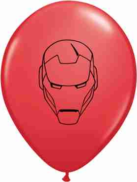 Marvel's Avengers Assemble Standard Red Latex Round 11in/27.5cm