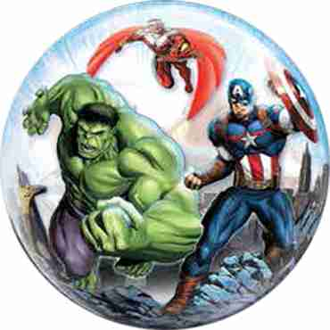 Marvels Avengers Single Bubble 22in/55cm