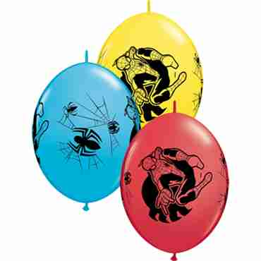Marvel's Ultimate Spider-Man Standard Red, Standard Yellow and Fashion Robins Egg Blue Assortment QuickLink 12in/30cm