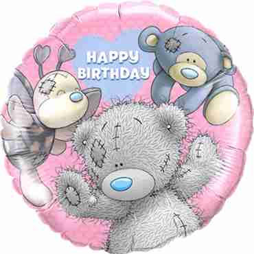 Me To You - Blue Nose Friends Birthday Foil Round 18in/45cm