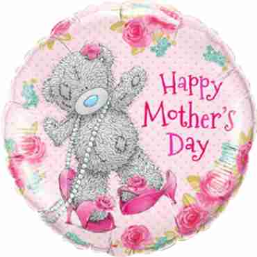 Me To You - Tatty Teddy Mothers Day Foil Round 18in/45cm