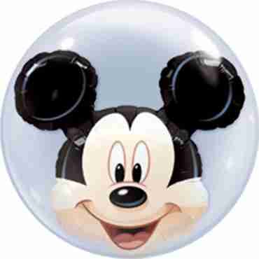 mickey mouse double bubble 22in/55cm