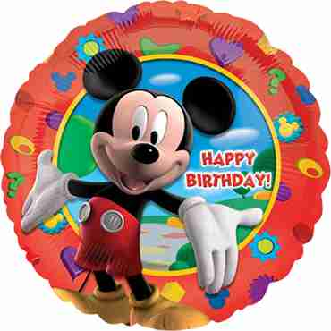 Mickey's Clubhouse Birthday Foil Round 18in/45cm