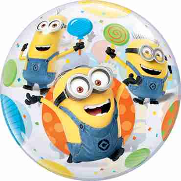 Minions Single Bubble 22in/55cm