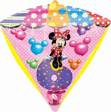 minnie mouse age 6 diamondz 15in/38cm x 17in/43cm