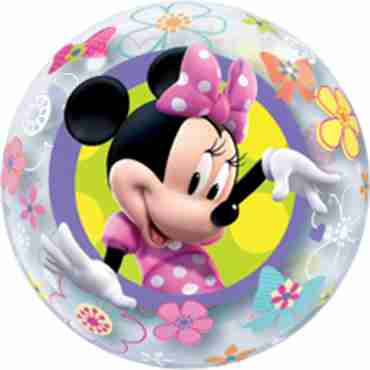 Minnie Mouse Bow-tique Single Bubble 22in/55cm