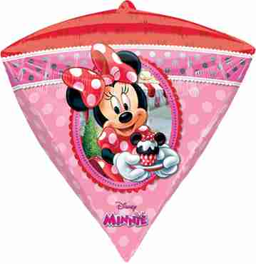 minnie mouse diamondz 15in/38cm x 17in/43cm