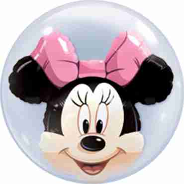 minnie mouse double bubble 22in/55cm