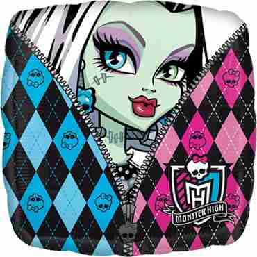 monster high characters foil square 18in/45cm