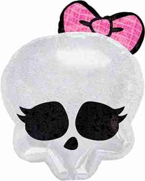 monster high skull foil shape 18in/45cm