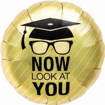 Now Look at you Grad Foil Round 18in/45cm