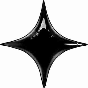 onyx black foil starpoint 40in/100cm
