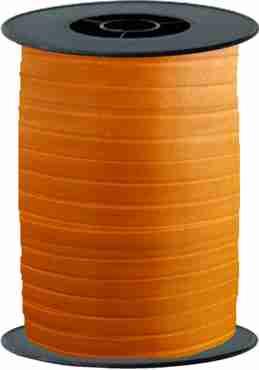 Orange Curling Ribbon 10mm x 250m
