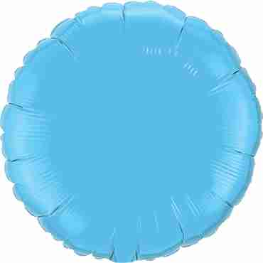 Pale Blue Foil Round 18in/45cm