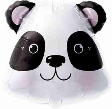 Panda Foil Shape 14in/35cm
