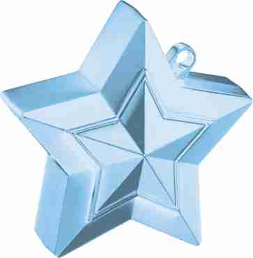 Pearl Light Blue Star Weight 150g 62mm