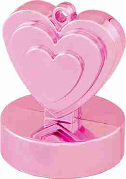 Pearl Pink Heart Weight 110g 62mm