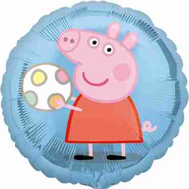 peppa pig vendor foil round 18in/45cm