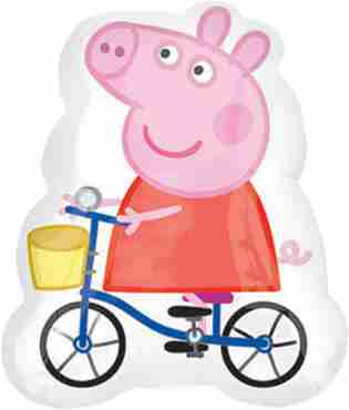 Peppa Pig Vendor Foil Shape 19in/48cm x 23in/58cm