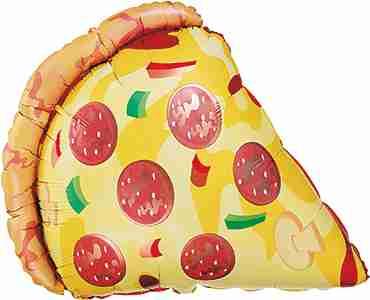 Pizza Slice Foil Shape 29in/74cm