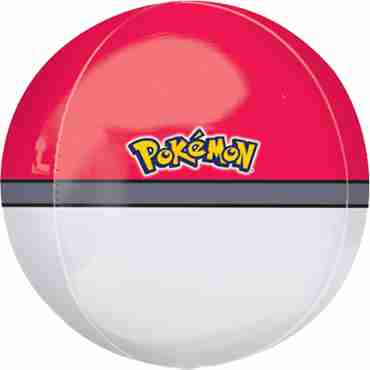pokeball orbz 15in/38cm x 16in/40cm