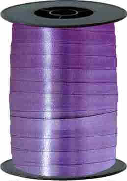 Purple Curling Ribbon 10mm x 250m
