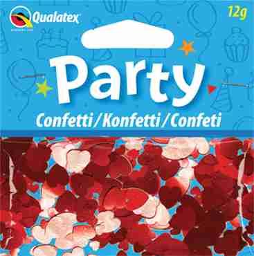 Red Hearts Confetti 12g