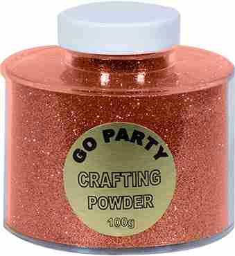 Rose Gold Glitter Pot 100g