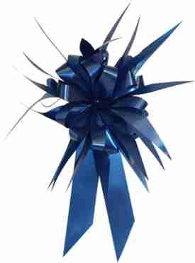 Royal Blue MasterBow Starburst Bow