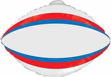 Rugby Foil Shape 24in/60cm