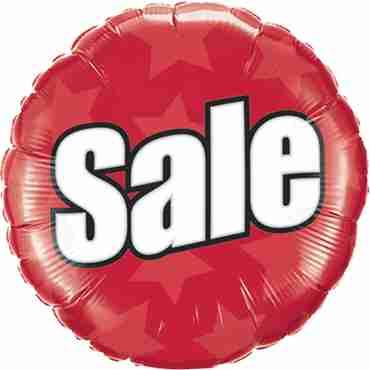 Sale Foil Round 18in/45cm