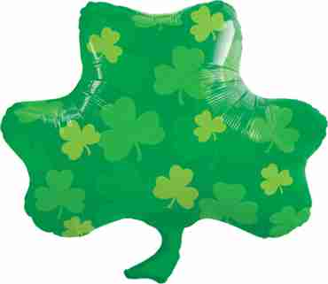 Shamrock Patterns Foil Shape 28in/71cm