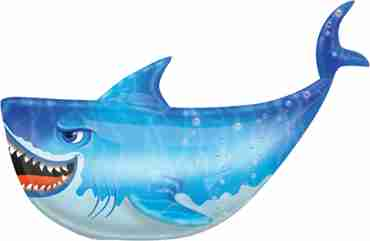 shark vendor foil shape 24in/60cm x 24in/60cm