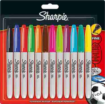 Sharpie Assorted Fine Point Permanent Marker
