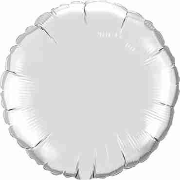 Silver Foil Round 4in/10cm